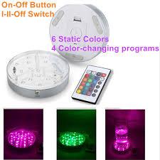 aa battery light bulb 30pcs 15cm aa battery rgb 16colors led lighting system waterproof