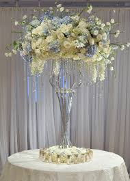 White Rose Centerpieces For Weddings by Oh My This Is Gorgeous Love The Blue And White The Softer Side