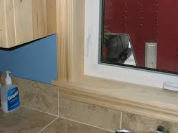 Should Curtains Touch The Floor Or Window Sill Window Trim Styles Clear Pine Jambs U0026 Casing Trim With Window