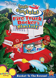amazon disney einsteins fire truck rocket u0027s blastoff