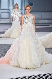 Couture Wedding Dresses 21 Fantasy Wedding Dresses From The Couture Runways