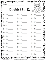 67 best addition doubles near doubles facts images on pinterest