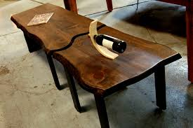 Walnut Slab Table Coffee Tables Appealing Img Live Edge Coffee Table Finished High