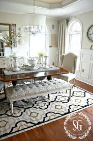 gorgeous dining tables round dining room rugs rug under kitchen
