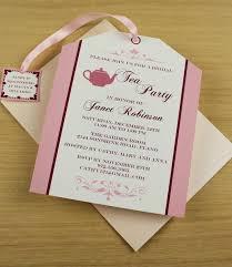 Tea Party Bridal Shower Bridal Shower Tea Party Invites Vertabox Com