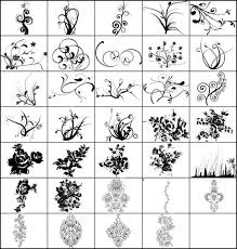 free ornament brush photoshop brushes in photoshop brushes abr