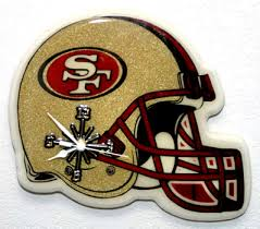 christmas gifts for 49ers fans christmas gift san francisco 49ers nfl helmet wall clock property room