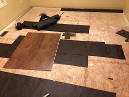 How To Lay Underlay For Laminate Flooring How To Level An Uneven Osb Subfloor Before Laminate Anandtech