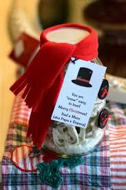 snowman jar christmas gift idea this little home of mine