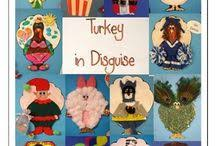 Thanksgiving In The Classroom Amy Pittman Sweetfrog83 On Pinterest