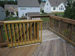 Decking Kits With Handrails Sliding Deck Gate Sliding On Wheels Diy Wooden Deck Gate Looks