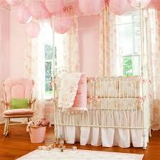 shabby chenille crib bedding pink floral baby crib bedding