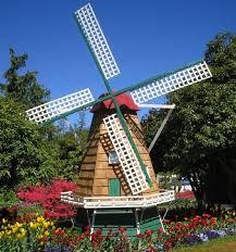 decorative backyard windmill iron