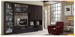 Wenge Living Room Furniture St 3000 Wall Unit In Wenge Finish By Mcs Furniture Made In Italy