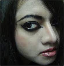 lashes eye makeup emo makeup lips