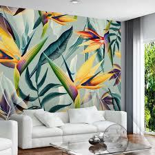 Flower Wallpaper Home Decor Popular 3d Flower Wallpaper For Home Decor Buy Cheap 3d Flower