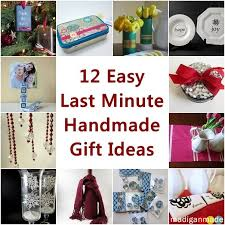 12 easy last minute handmade gift ideas rosyscription