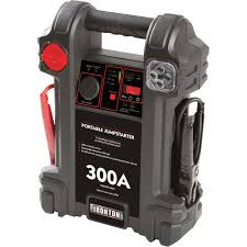 ironton portable jumpstarter u2014 300 amp jump starters powerpacks