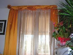 tende con drappeggio tende arricciate su bastone con drappeggi in seta su bastone in