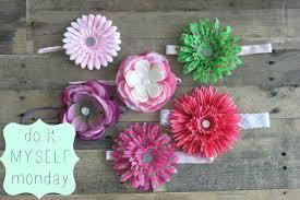 flower headbands diy diy silk flower headbands