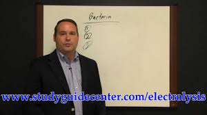 electrolysis exam study guide bacteria review lesson youtube