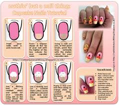 cupcake nail art tutorial discovered by ѕнιzυĸa