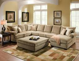 chaise sofa with ottoman chaise reversible sectional couch