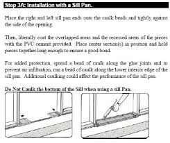 Patio Door Sill Pan Leaking Door And Sill Pan General Discussion Contractor Talk