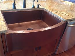 Copper Kitchen Sink Reviews by Front Flat Ends Farmhouse Sink Copper Sinks Online