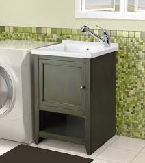 Laundry Room Cabinets With Sinks Magnificent Laundry Room Sinks Furniture Optronk Home Designs