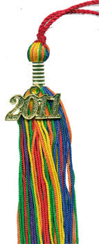 graduation tassles pridestore 10 rainbow graduation tassels with date or no date