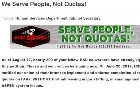 target black friday petition afscme new mexico