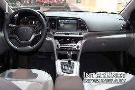Hyundai Elentra Interior 2017 Hyundai Elantra Interunet