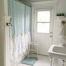 Country Chic Shower Curtains Shabby Chic Shower Curtains Free Home Decor Techhungry Us
