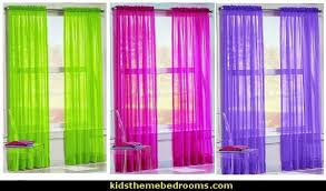 Lime Green Sheer Curtains Decorating Theme Bedrooms Maries Manor Color