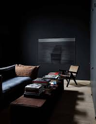 Black Living Room by Moody Living Room Vincent Van Duysen Interior Pinterest