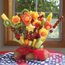 flower fruit fruit bouquet dailybuzz 9 9 itsy bitsy foodies