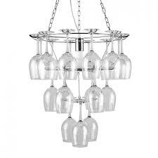 Chandelier Wine Glass Chrome Wine Glass Holder Designer Chandelier Iconic Lights