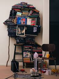 book stacking ideas 15 inspiring cleverly organized stacks of books flavorwire