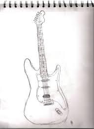 guitar sketch by jorandom on deviantart