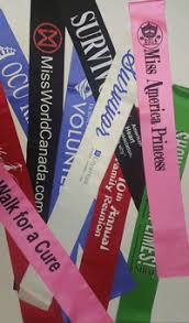 personalized sashes pageant graduation corporate event sash stole the sash company