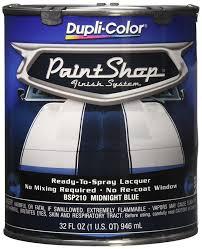 amazon com dupli color bsp210 midnight blue paint shop finish