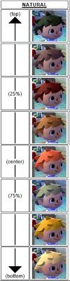 all acnl hairstyles with colours acnl hair eyes long post