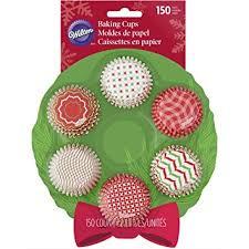 wilton wreath mini cupcake liners 100 count