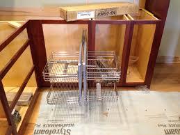 Corner Cabinet Storage Solutions Kitchen Decor Corner Kitchen Cabinet Solutions And Rev A Shelf Blind Corner