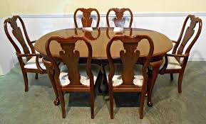 dining room sets discontinued chair that had torn cane back and