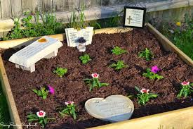 memorial ideas how to make your own memorial garden on a budget savvy saving