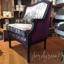 graphite with black wax on a custom chair chalk paint by annie