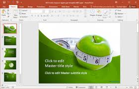 free weight loss powerpoint template