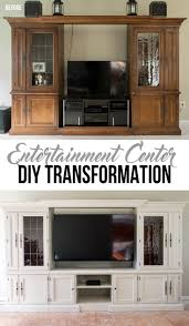 White Entertainment Center For Bedroom Best 25 Entertainment Center Makeover Ideas On Pinterest Diy